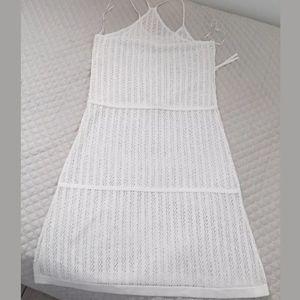 A.L.C. Dresses - A.L.C Sz S & M crochet striped knit dress